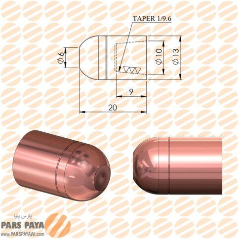 کلاهک نقطه جوش مدل D3