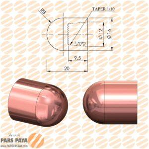 کلاهک نقطه جوش مدل F16