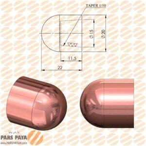 کلاهک نقطه جوش مدل F20
