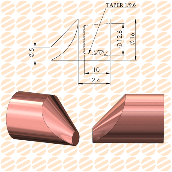 کلاهک نقطه جوش مدل E13